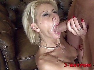 Mature Chicks Double Nailed in an Orgy