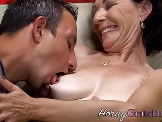 Granny getting pounded