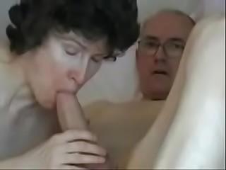 Mature couple  Grandpas big fat cock  theporncentral.com