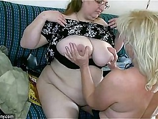 OldNanny Sexy chubby mature and plumper granny