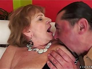 Hairy Granny wants big dick