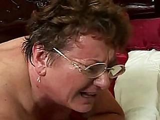 sweaty fat granny rear pussy pounded