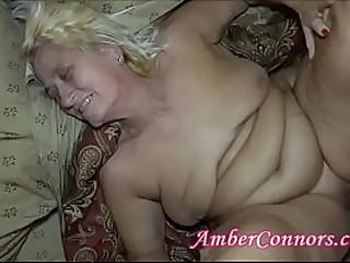 Sway Club Men Take Turns on Squirting Granny