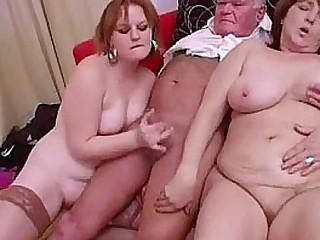 Crazy Granny Groupsex