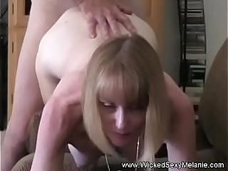 Amateur Granny Sucks Hard Cock For Crazy Result