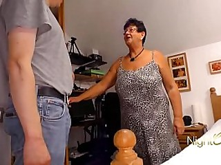Granny with wet Pussy