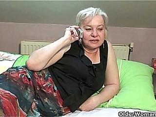 Shaft crazed granny gets fucked