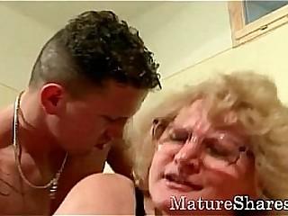 Granny smallish maintinence stud