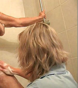 OldNanny Molten amateur mature showers old chubby granny