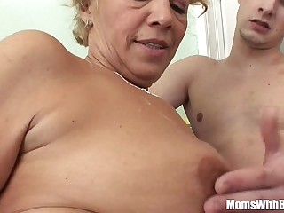 Youthfull Souled Granny Sucking And Screwing Hard Cock