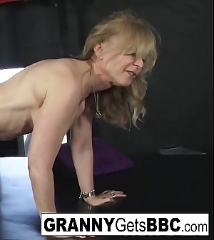 Sexy Grannies get Big Black Sensitized