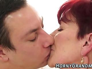 Vulva tasted granny jizzy
