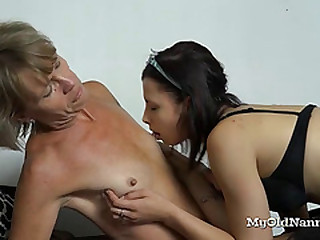 Teen Decided to Help Her Lesbian Granny