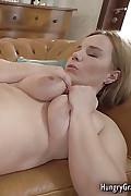 Bigtitted ash-blonde gets her old vagina ravished