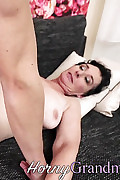 Buxom old chick with fat knockers rode