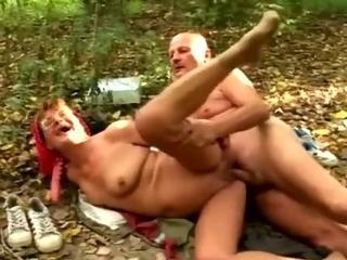 granny bitchy by her boyfriend