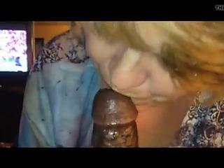 Beotches granny worships bbc