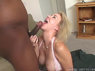 Beautiful Aged Blond mom I'd like to fuck Is Looking For Darksome Dong