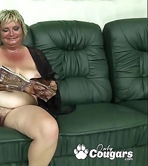 Flabby Old Granny Tightly A Young Mans Testicles