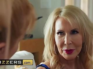 (Erica Lauren, Michael Vegas)  Cock Blocked By Mom  Brazzers