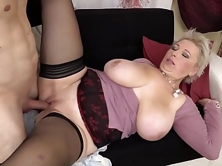 Udder Gilf Nailed By Youthfull Toy Boy