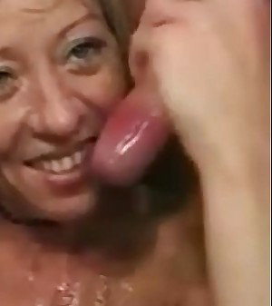 Sexy old women hardcore three way fuck