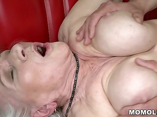 Norma the Sexy Cleaning Lady Finding some Porn on Laptop And Porked