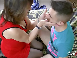 AgedLovE Shows Horny Mature with Comfortable Stud